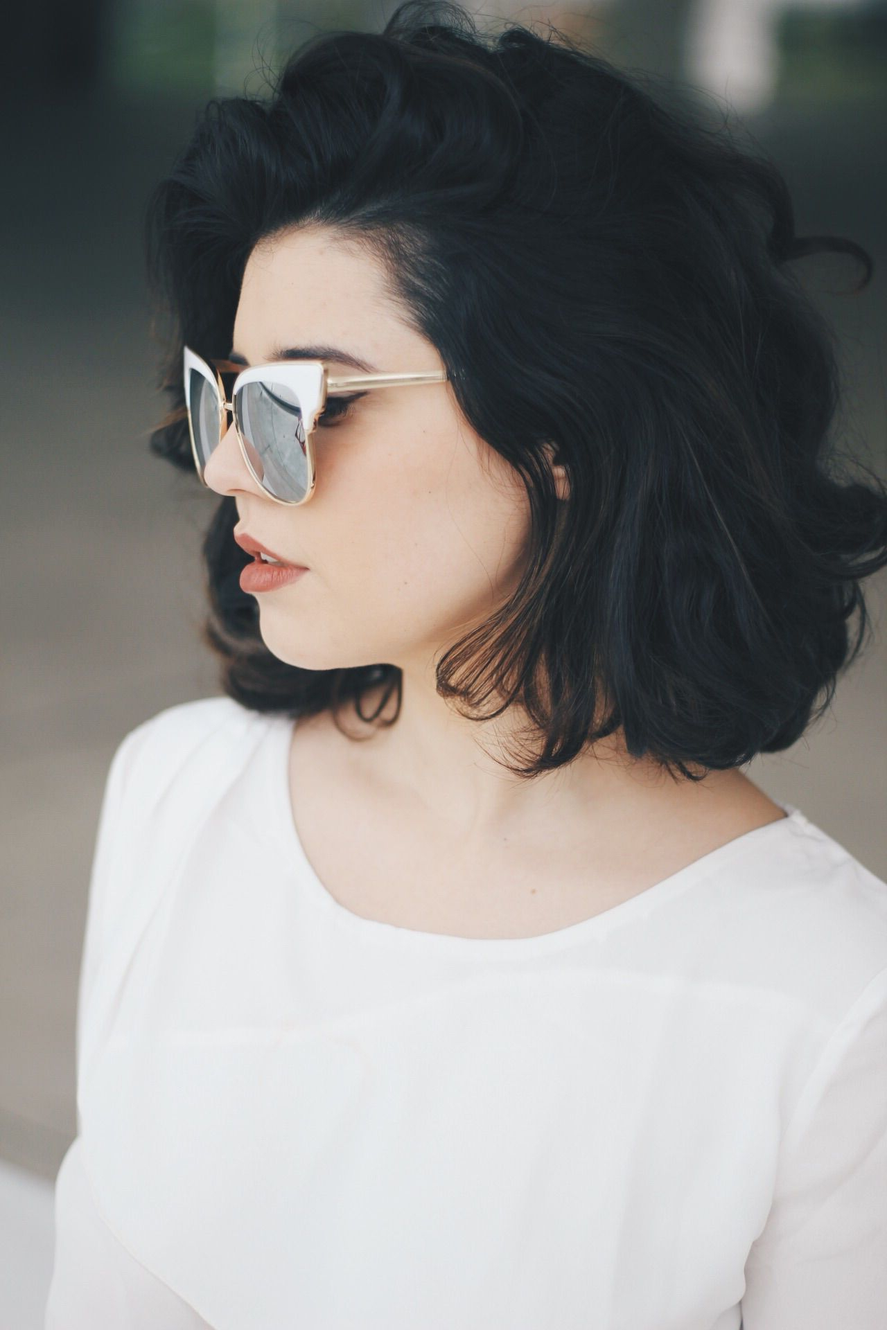 Look Dafiti | Hair | Pinterest | Hair, Short Hair Styles Và Hair Styles Regarding Short Black Hairstyles With Tousled Curls (View 15 of 20)