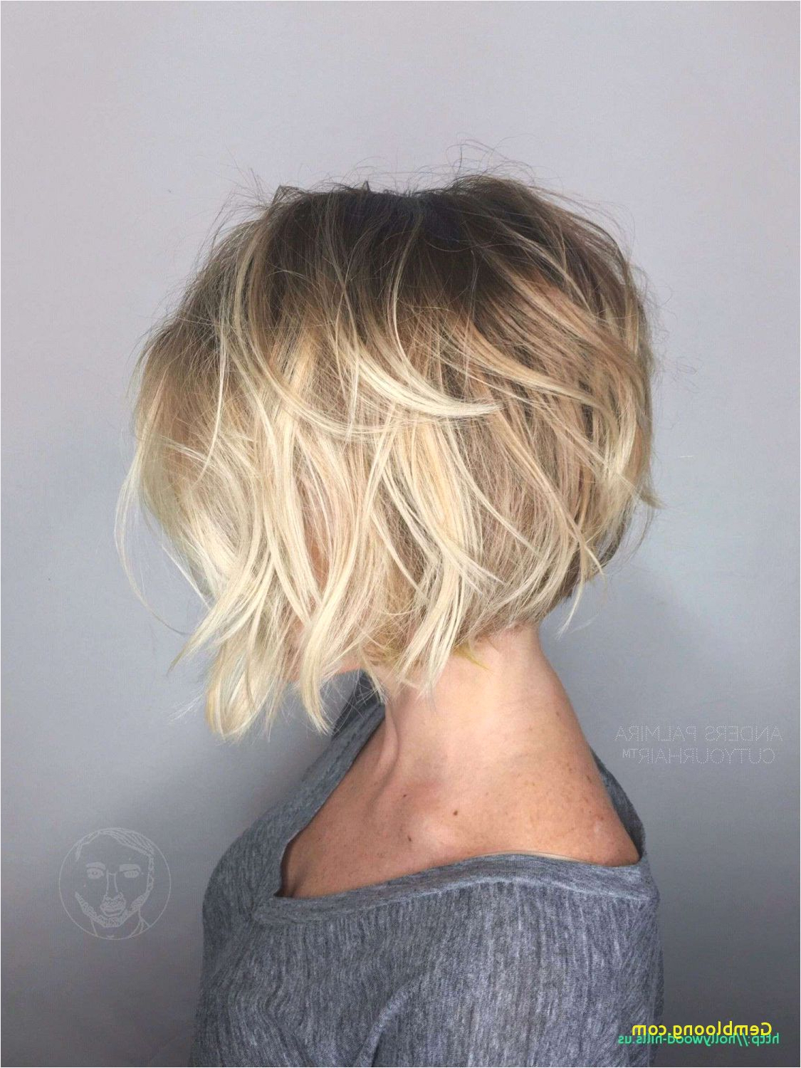 Looks Inside Short Razored Blonde Bob Haircuts With Gray Highlights (View 20 of 20)