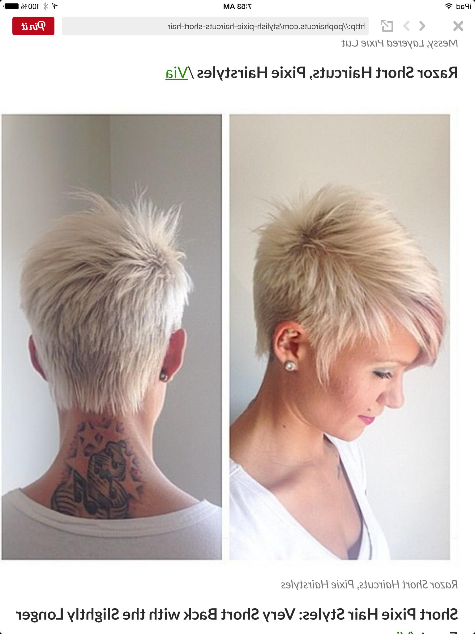 Messy Pixie Haircuts Choice Image Haircuts 2018 Men Fade Ideas Of Within Messy Pixie Hairstyles For Short Hair (View 9 of 20)