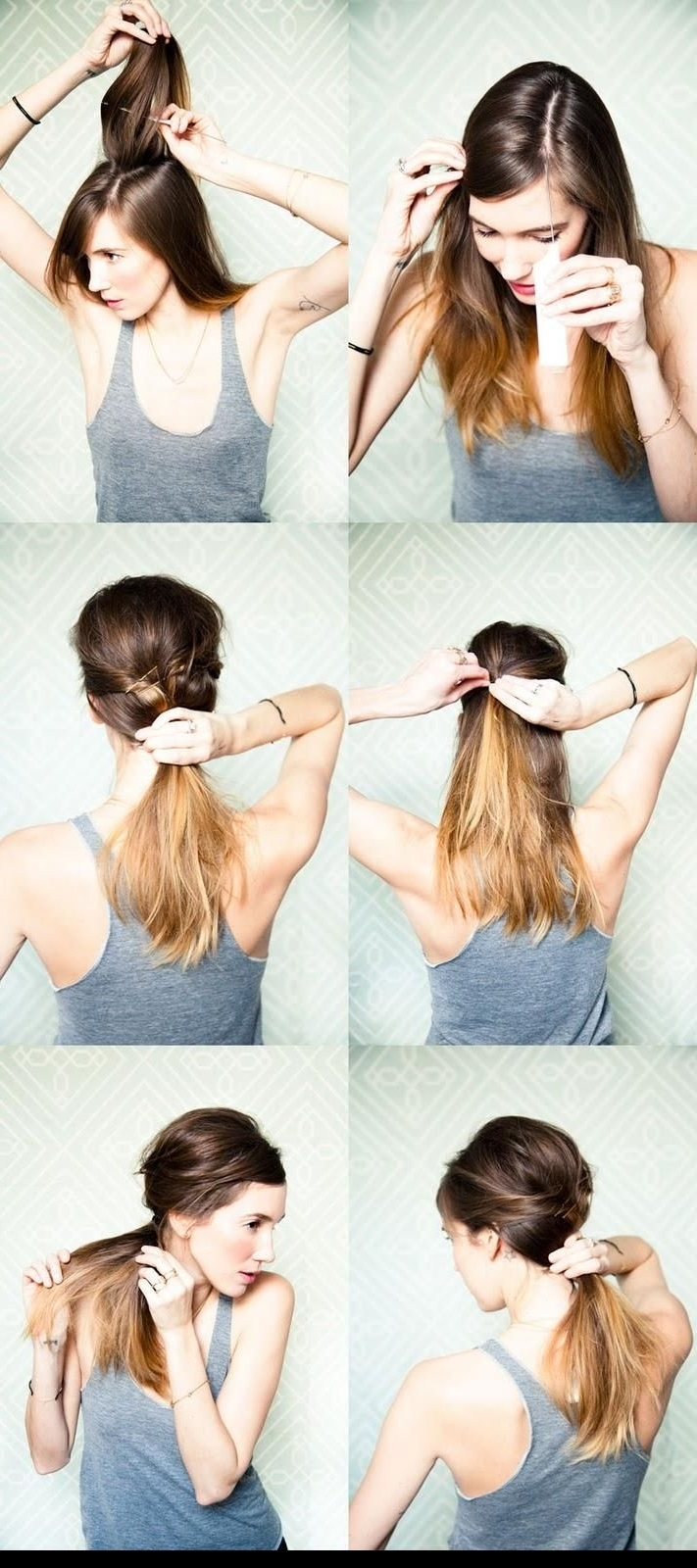 Messy Side Ponytail Tutorial (View 14 of 20)