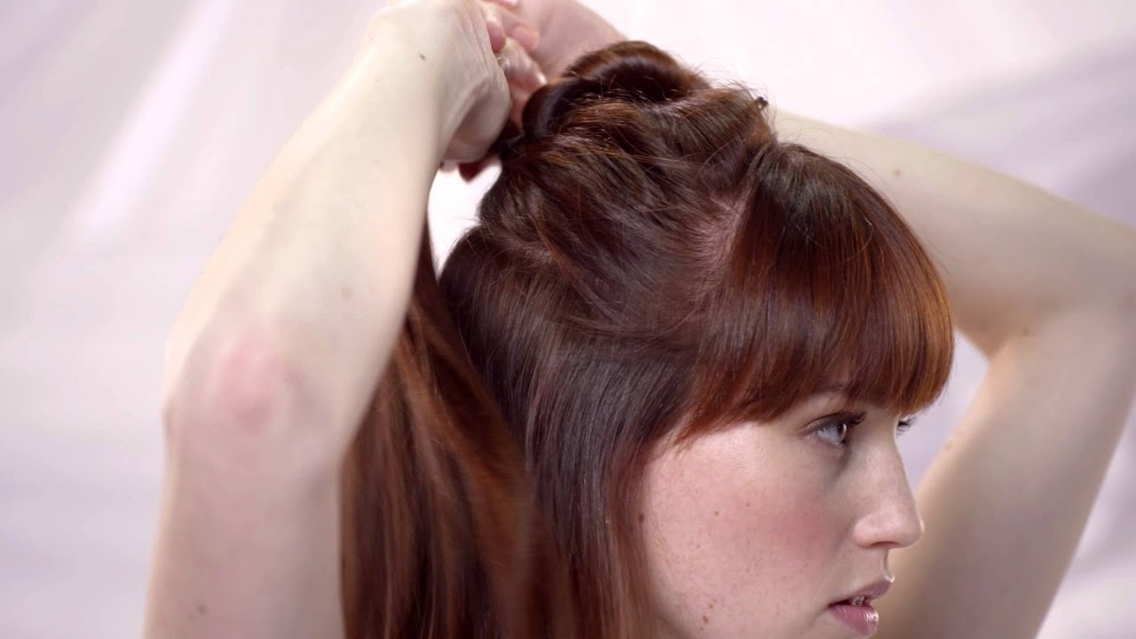 Most Current Faux Hawk Ponytail Hairstyles With Regard To How To Do A Faux Hawk Ponytail For Women With Long Hair – Pureology (View 6 of 20)