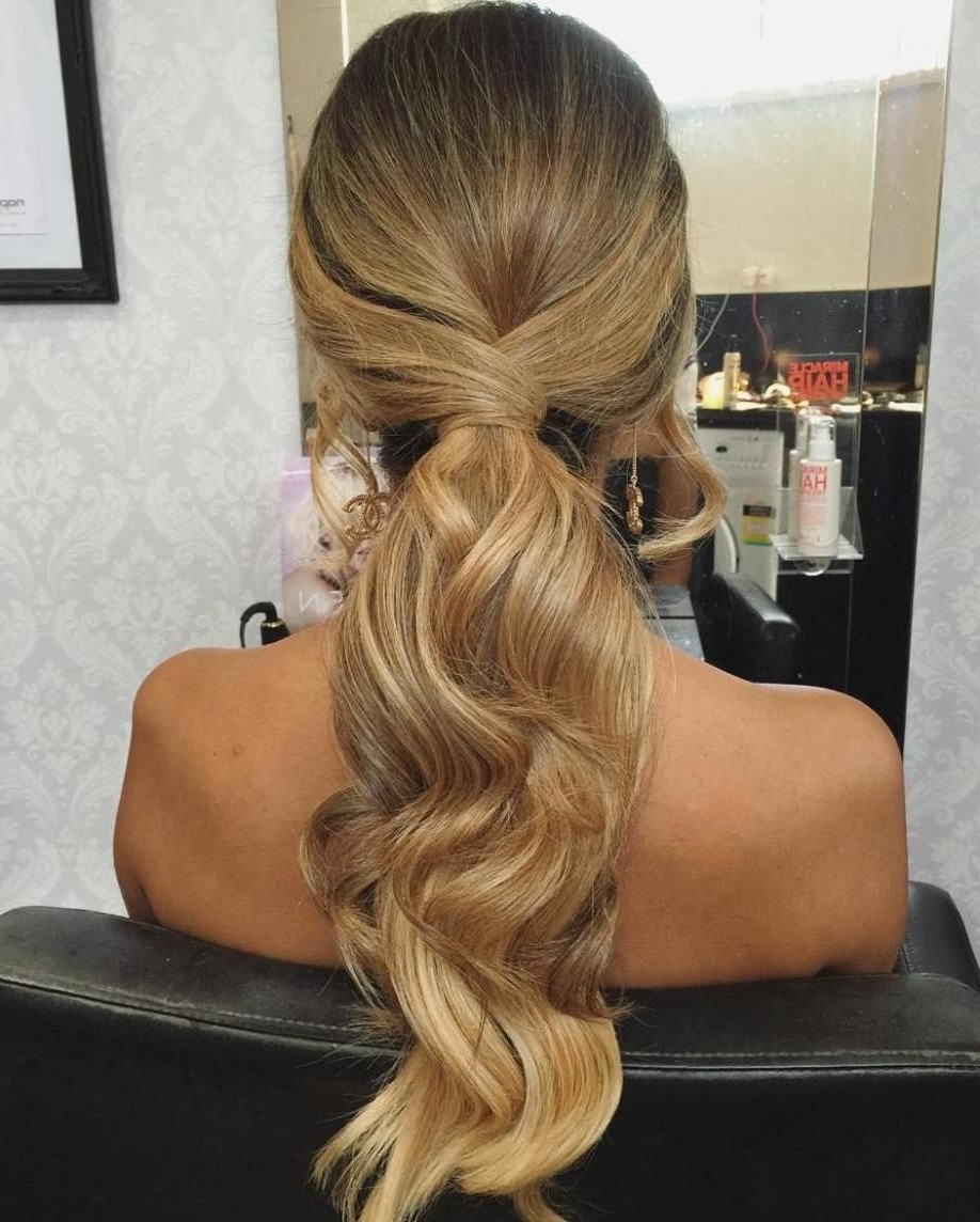 Most Current Long Elegant Ponytail Hairstyles Pertaining To 35 Fetching Hairstyles For Straight Hair To Sport This Season (View 14 of 20)