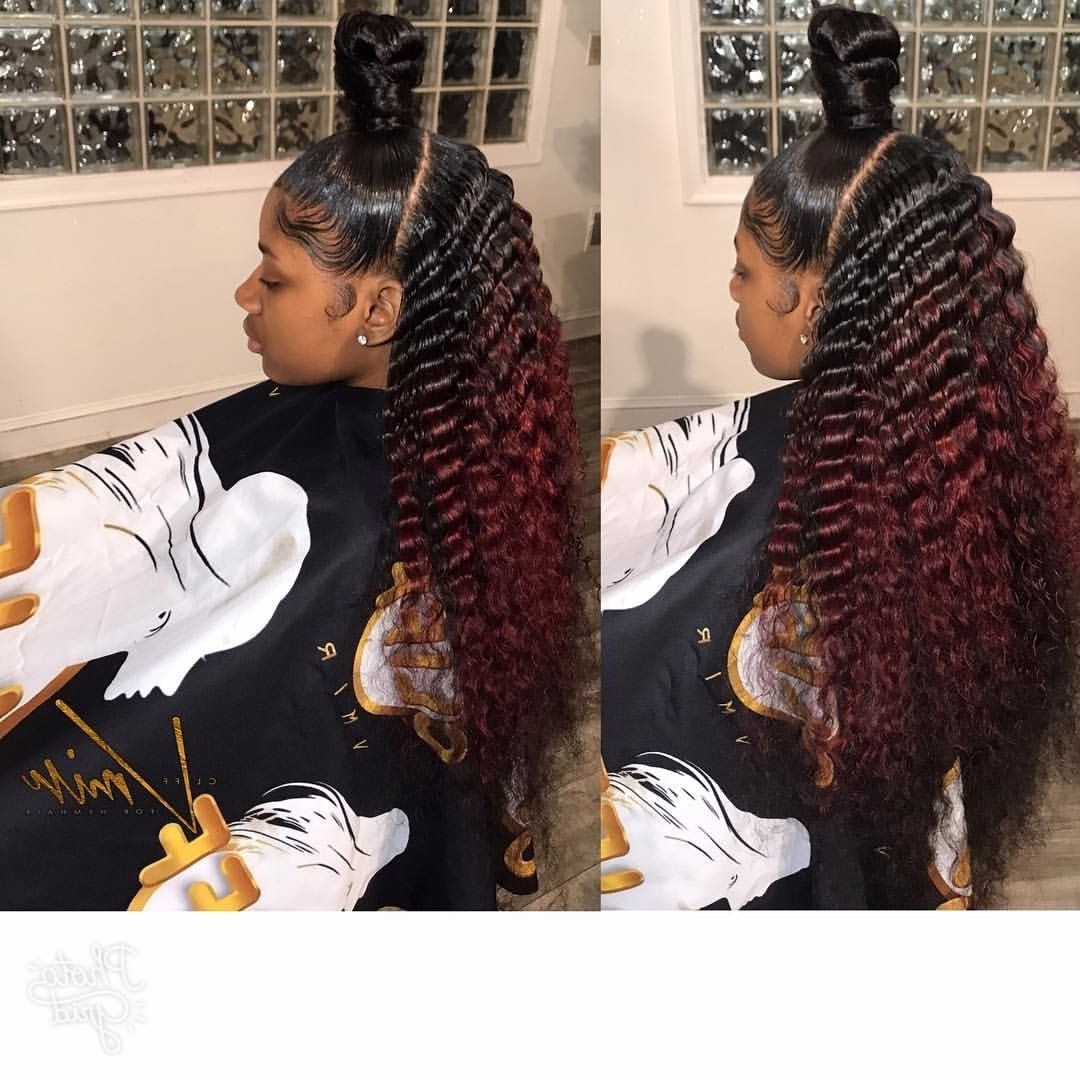 Most Current Sculpted And Constructed Black Ponytail Hairstyles Within Pinrhoda On Hairs (View 10 of 20)