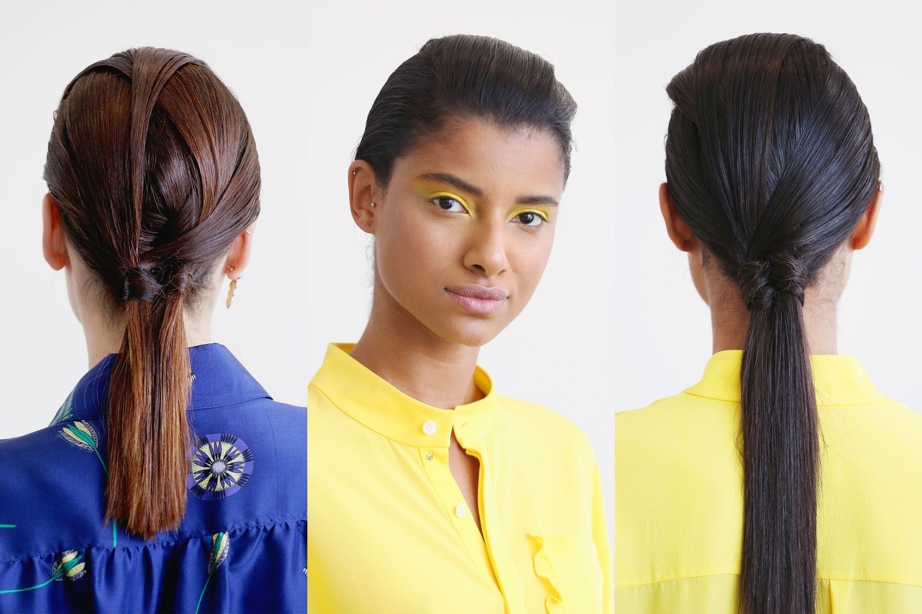 Most Recent Sculptural Punky Ponytail Hairstyles Pertaining To Spring Hair Trends 2018 – Spring And Summer Hairstyles From Nyfw Runway (View 11 of 20)