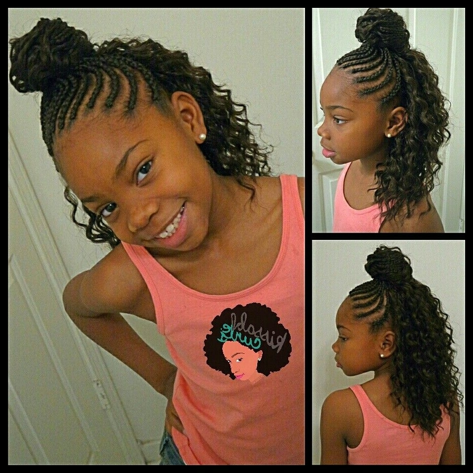 Most Up To Date Beach Friendly Braided Ponytails With Girls Crochet Braids Style Freetress Deep Twist (View 5 of 20)