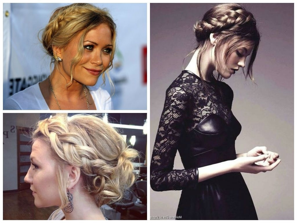 Featured Photo of Braided Crown Ponytails For Round Faces