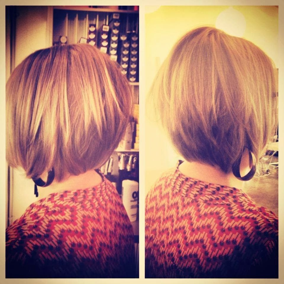 My Favorite Hair Style! Short, Modern, A Line Bob // Pickpockette Within A Line Amber Bob Haircuts (View 14 of 20)