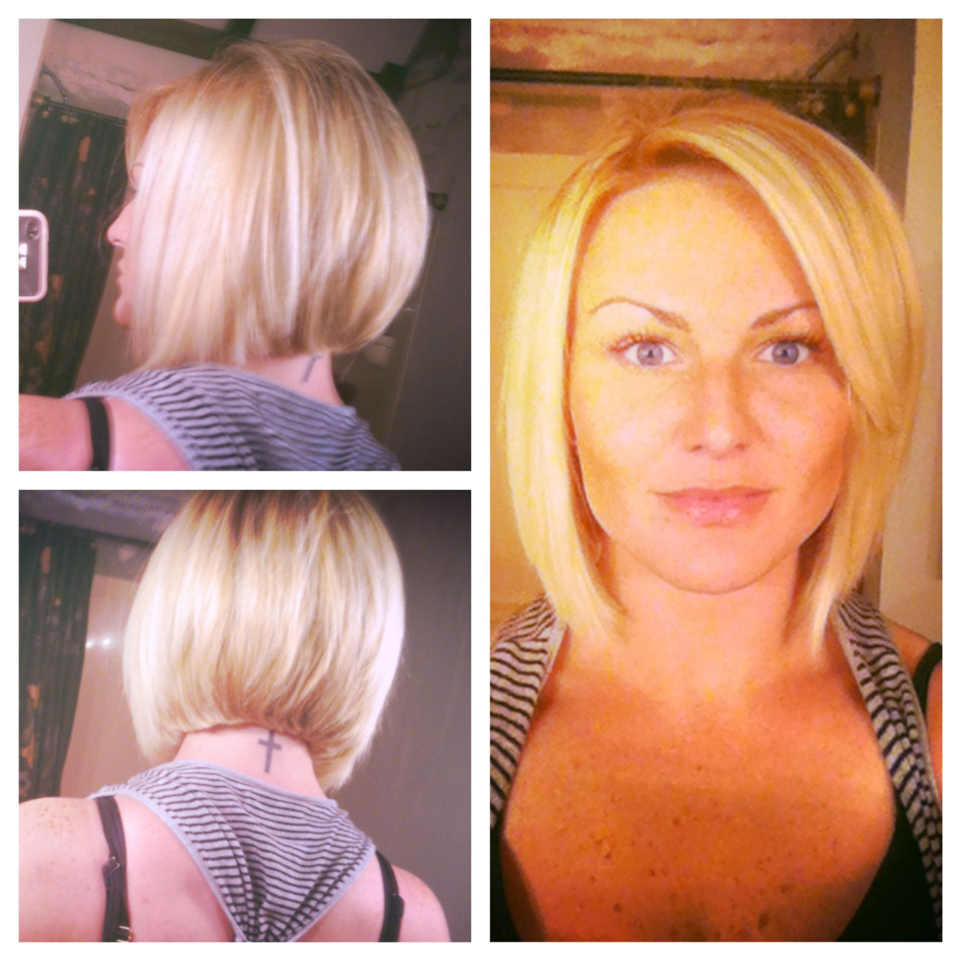 My Haircut!!!! A Line Bob! Love It | Hair Cuts | Pinterest | Hair Pertaining To A Line Amber Bob Haircuts (View 10 of 20)