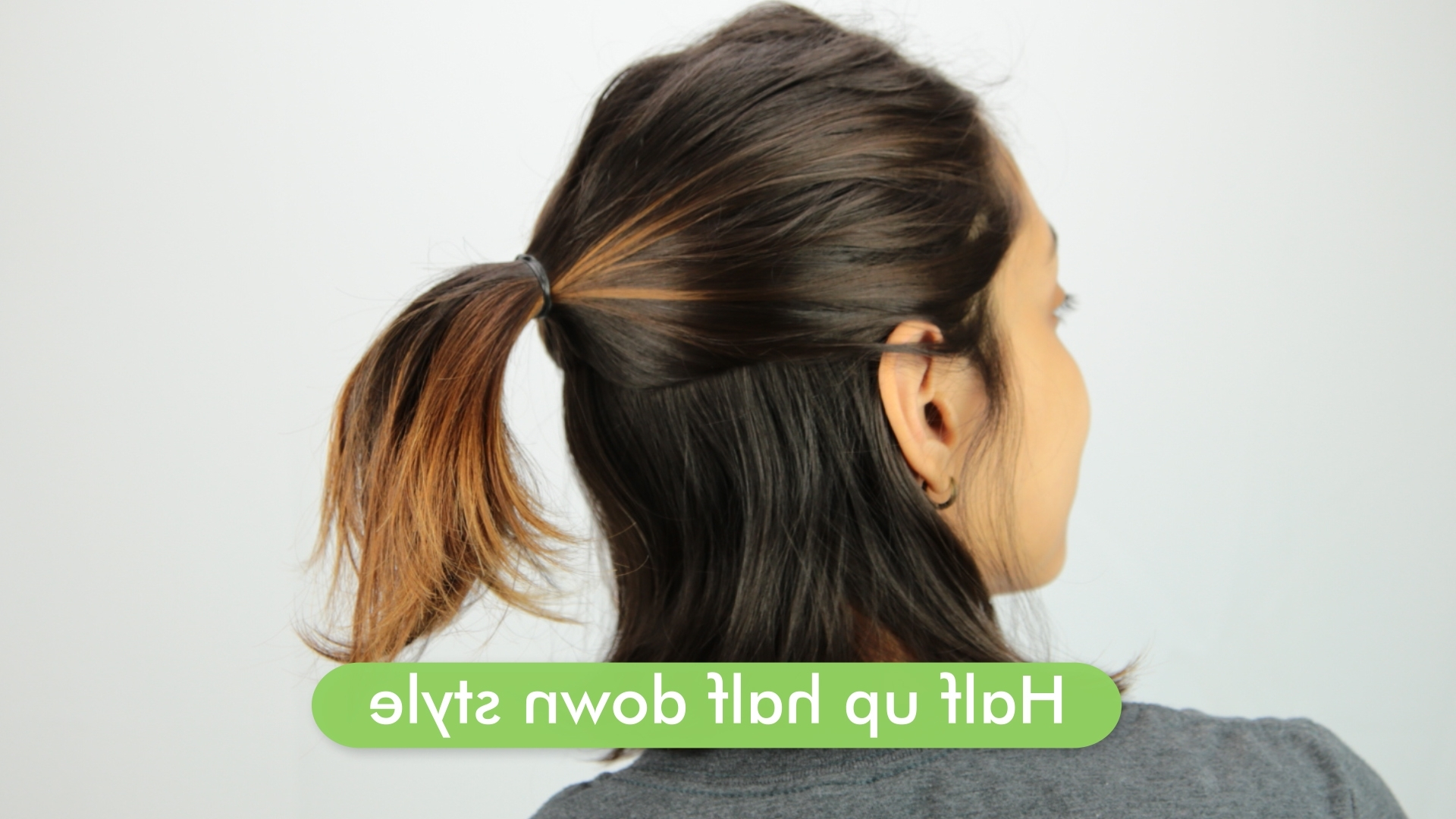Newest Cute And Carefree Ponytail Hairstyles Intended For 2 Easy Ways To Style Your Hair (with Pictures) – Wikihow (Gallery 9 of 20)