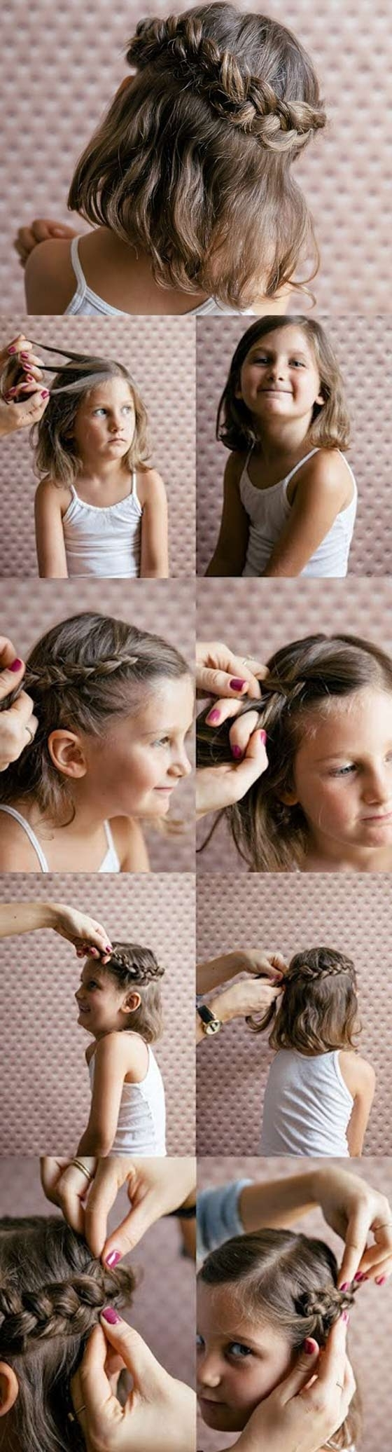 Newest French Braid Ponytail Hairstyles With Bubbles Inside 20 Quick And Easy Braids For Kids (tutorial Included) (View 17 of 20)