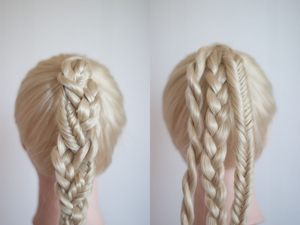 Newest Pretty Plaited Ponytails Inside Braided Ponytails (View 14 of 20)