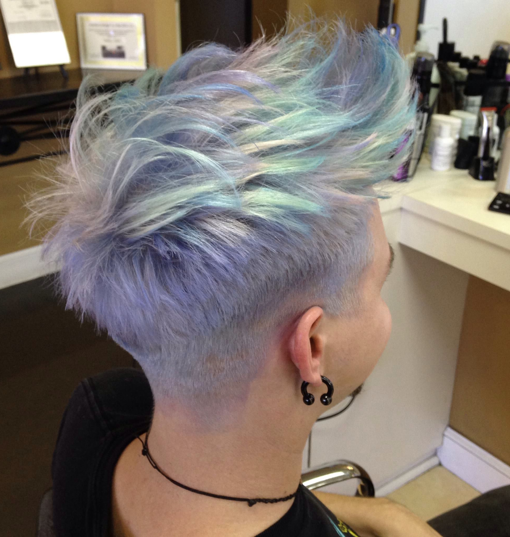 Opal Hair … | Hair In 2018… Within Edgy Purple Tinted Pixie Haircuts (View 17 of 20)