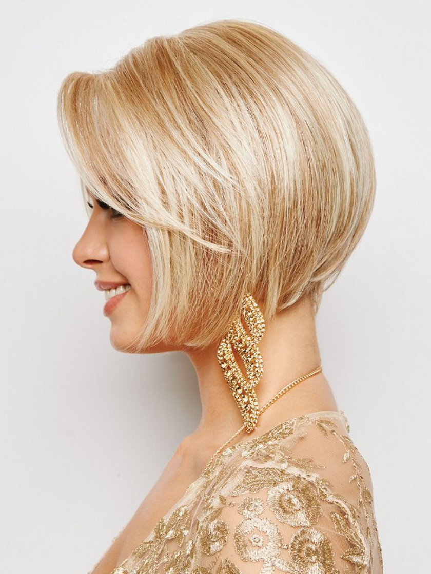 Opulence Lace Front Wigeva Gabor For Butter Blonde A Line Bob Hairstyles (View 18 of 20)