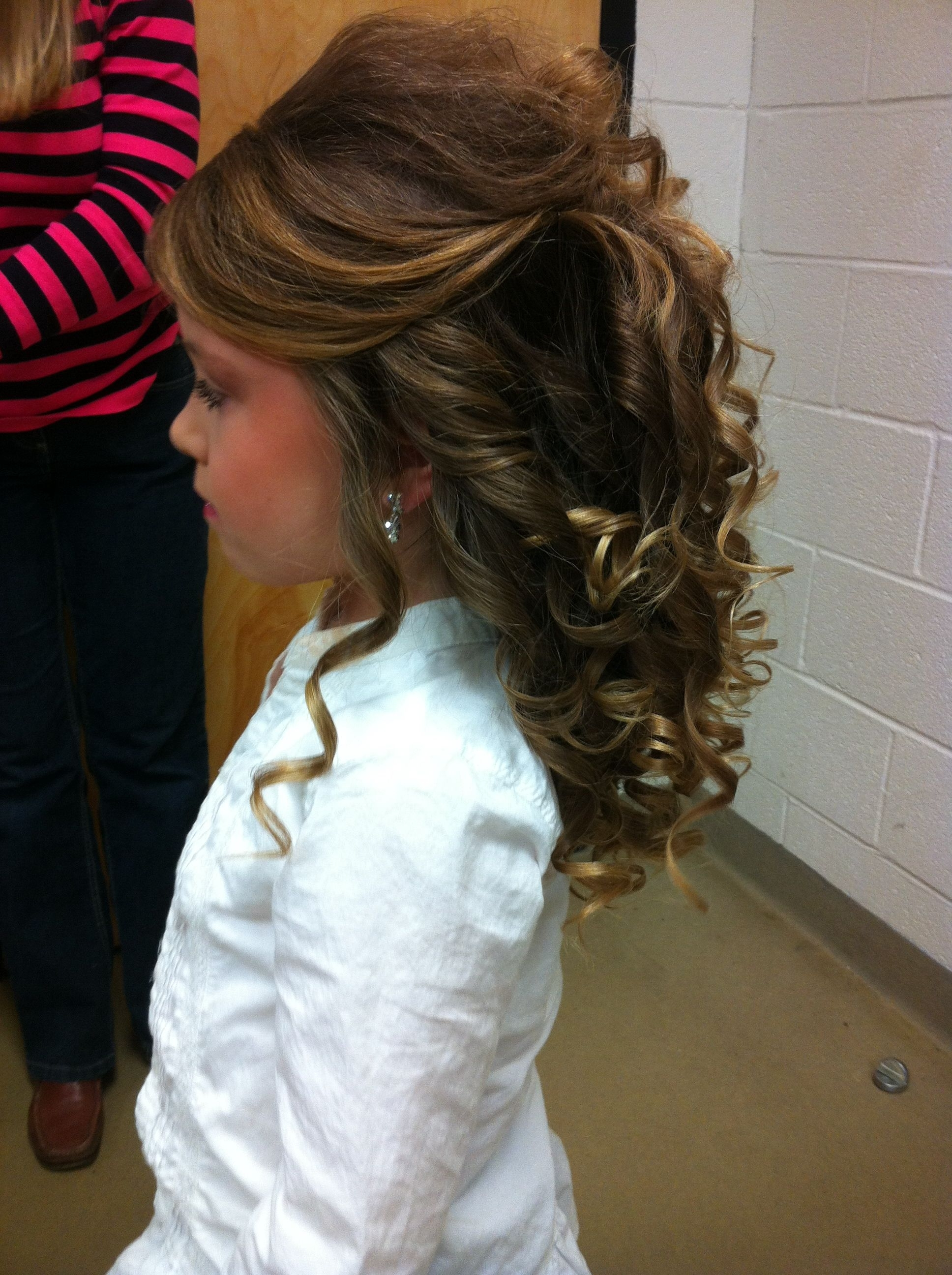 Pageant Hair. Love The Side View But The Top Needs Smoothing (View 12 of 20)