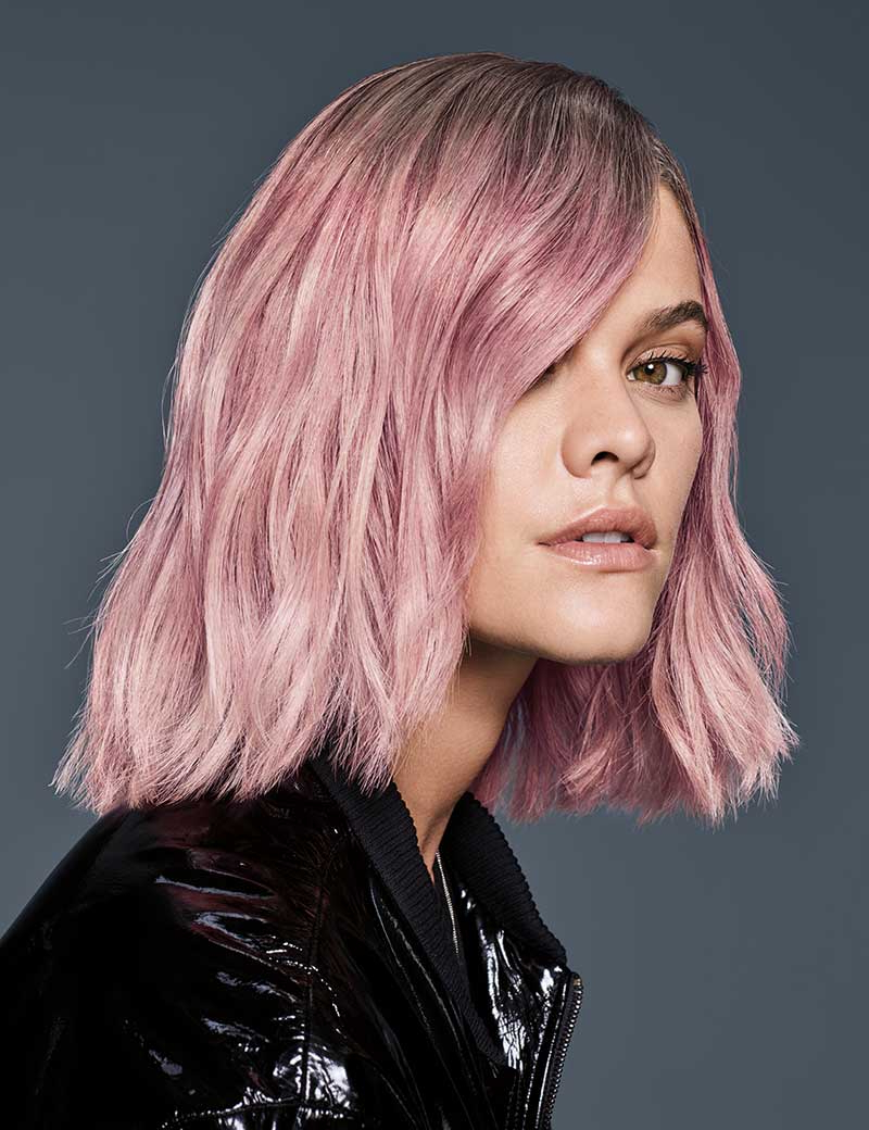 Pastel Pink Haircolor | Redken Within Pastel Pink Textured Pixie Hairstyles (View 14 of 20)