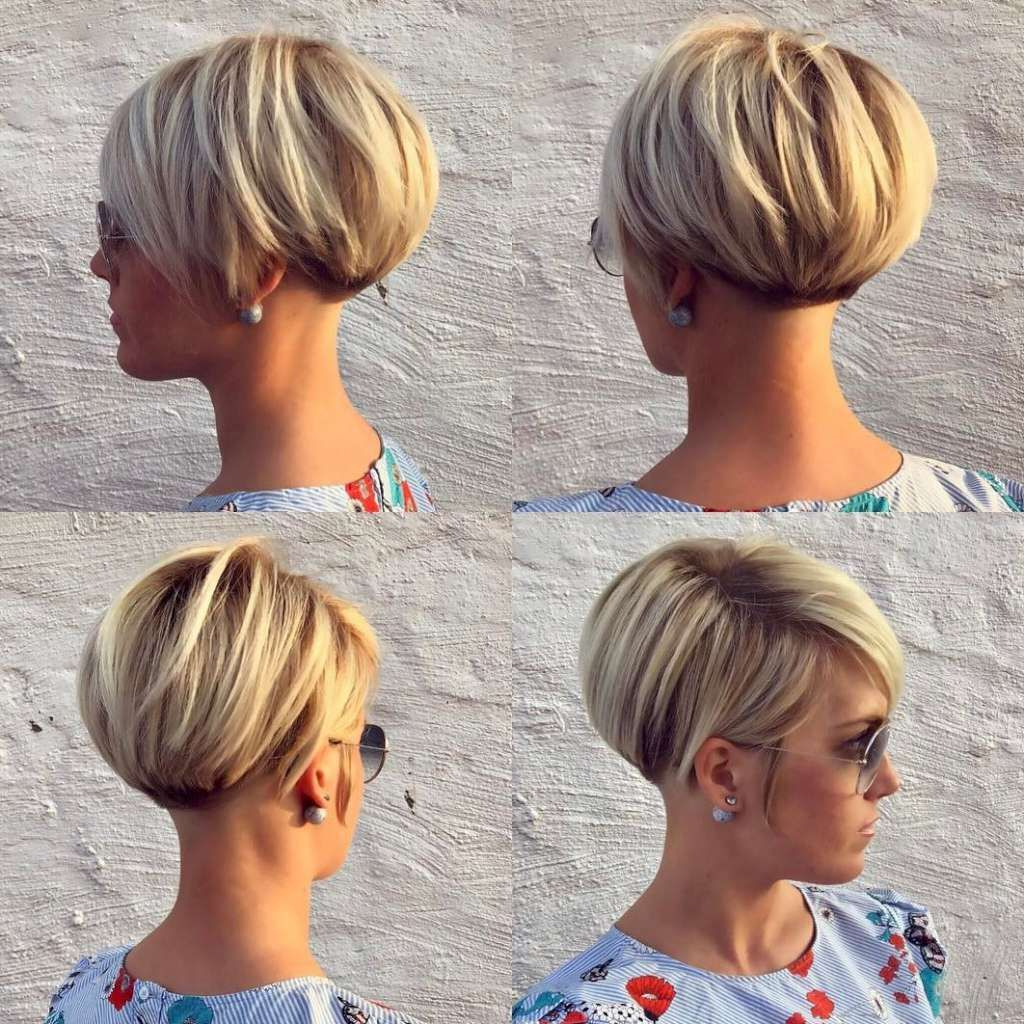 Perfect Tips To Bust Your Bad Hair Days In 2018 | თმის Pertaining To Pixie Short Bob Haircuts (View 15 of 20)