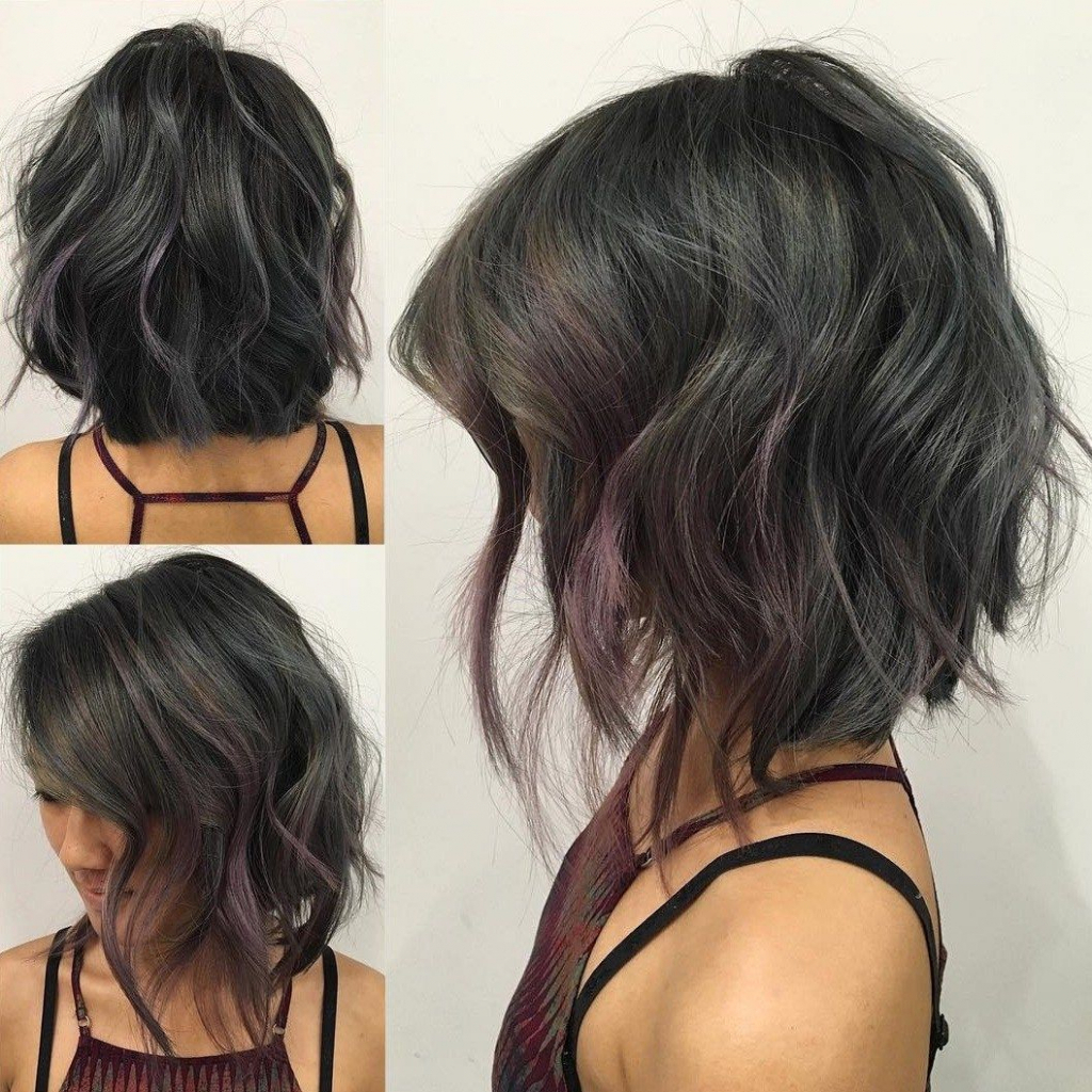 Photos Of Angled Bob Hairstyles For Wavy Hair Menshairstyletrends With Regard To Curly Angled Bob Hairstyles (View 17 of 20)