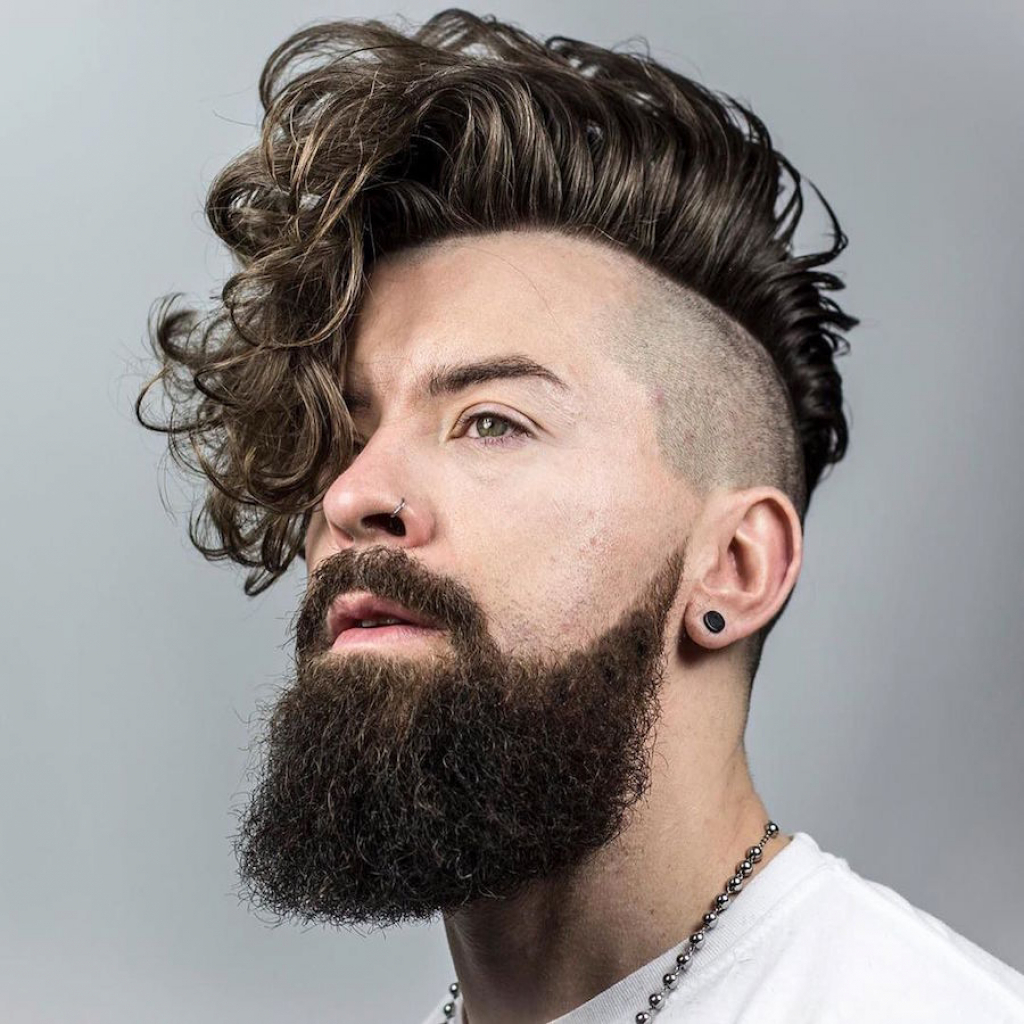Picture Of Undercut Hairstyle For Curly Hair Menhairdos (View 14 of 20)
