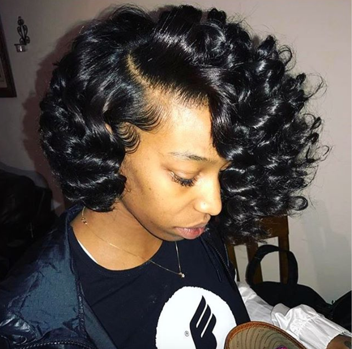 Pinblack Hair Information – Coils Media Ltd On Natural For Cute Curly Bob Hairstyles (View 12 of 20)