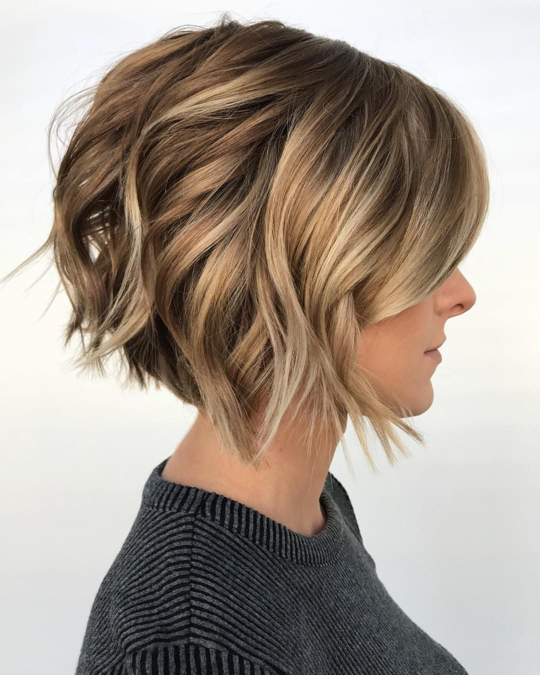 Pindesiree Barraza On Hair | Pinterest | Cabello, Pelo Ondulado Within Dynamic Tousled Blonde Bob Hairstyles With Dark Underlayer (View 18 of 20)