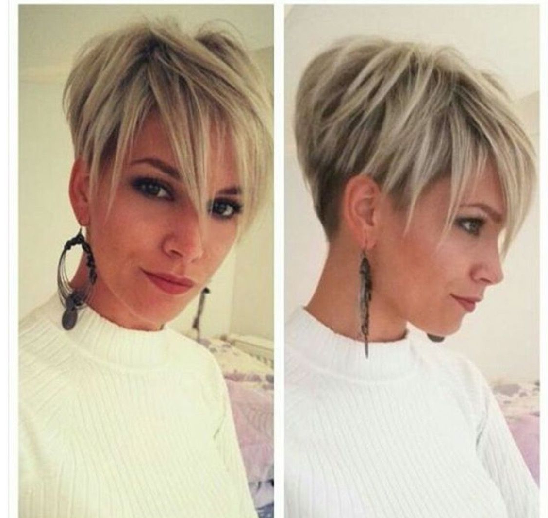 Pinjagoda Pilipczuk On My Style | Pinterest | Hair Style With Edgy Pixie Haircuts For Fine Hair (View 18 of 20)