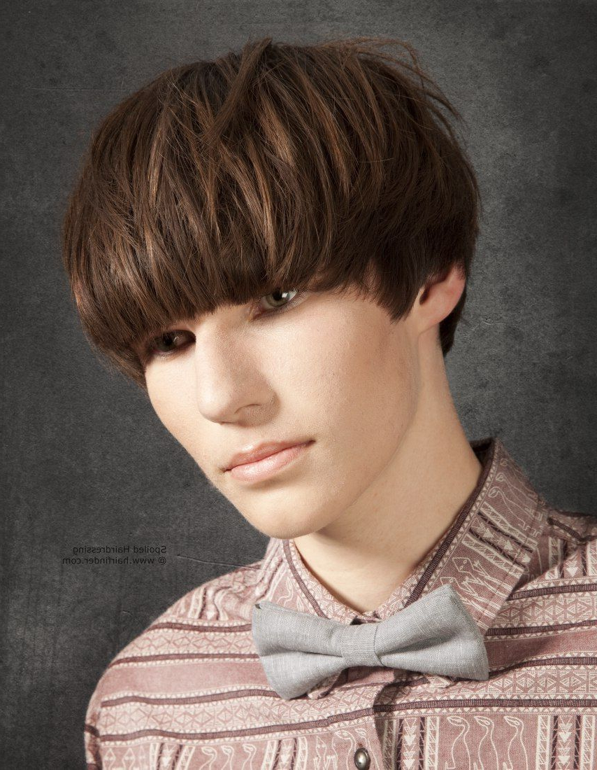 Pinmen's Hairstyles Club On Cool Funky Haircuts In 2018 In Tapered Bowl Cut Hairstyles (View 10 of 20)