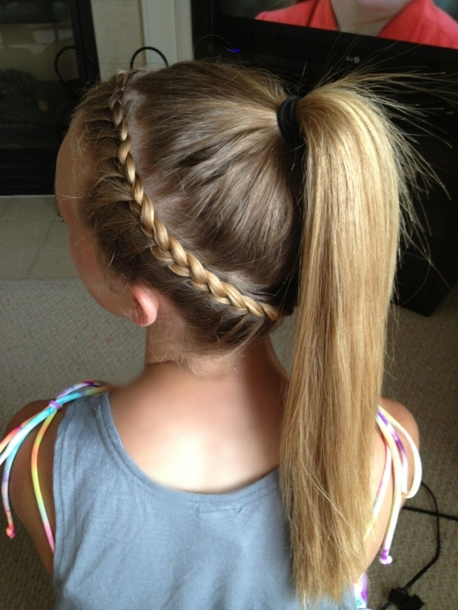 Featured Photo of Fantastical French Braid Ponytail Hairstyles