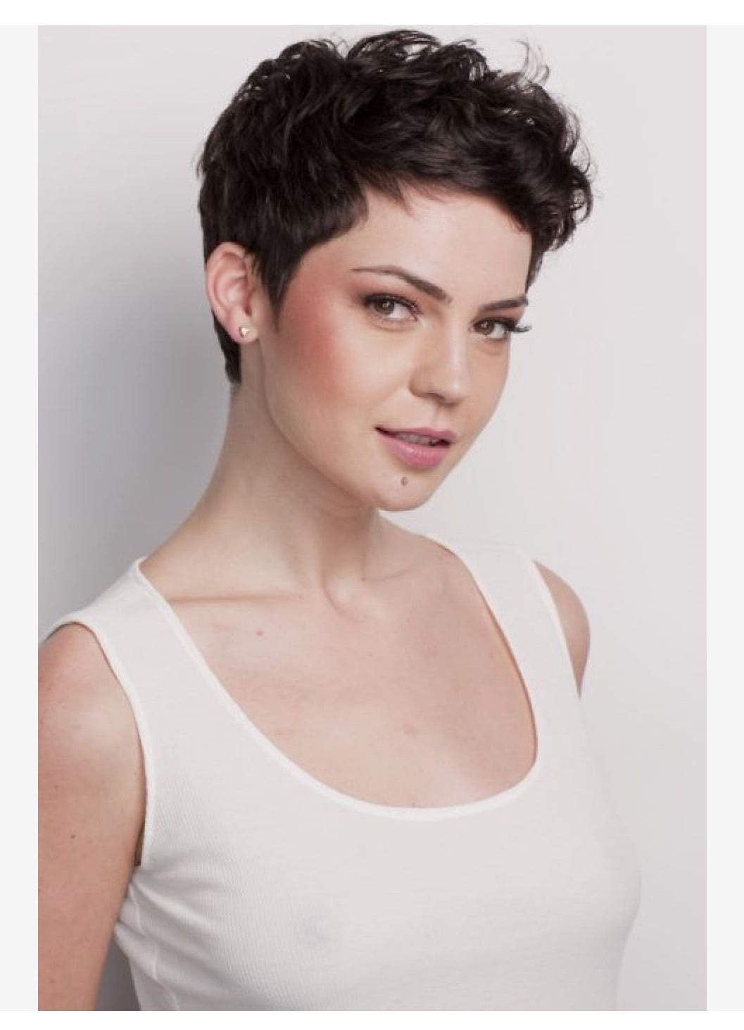 Featured Photo of Pixie Haircuts With Short Thick Hair