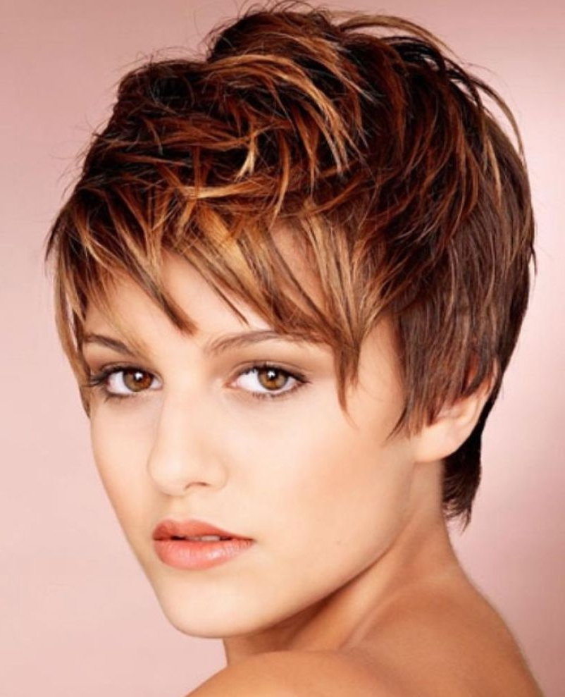 Pixie Cuts: 13 Hottest Pixie Hairstyles And Haircuts For Women Intended For Curly Golden Brown Pixie Hairstyles (View 12 of 20)