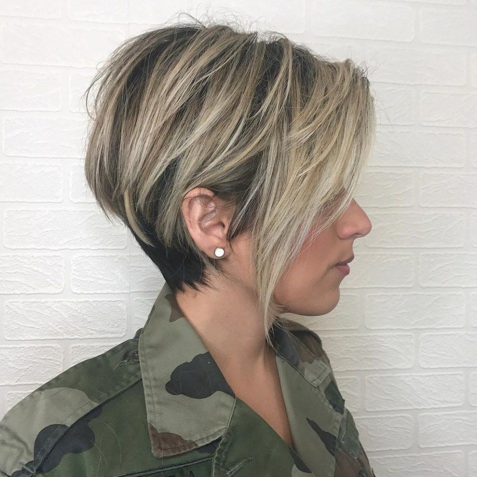 Pixie Haircuts For Thick Hair – 50 Ideas Of Ideal Short Haircuts With Regard To Layered Tapered Pixie Hairstyles For Thick Hair (View 4 of 20)