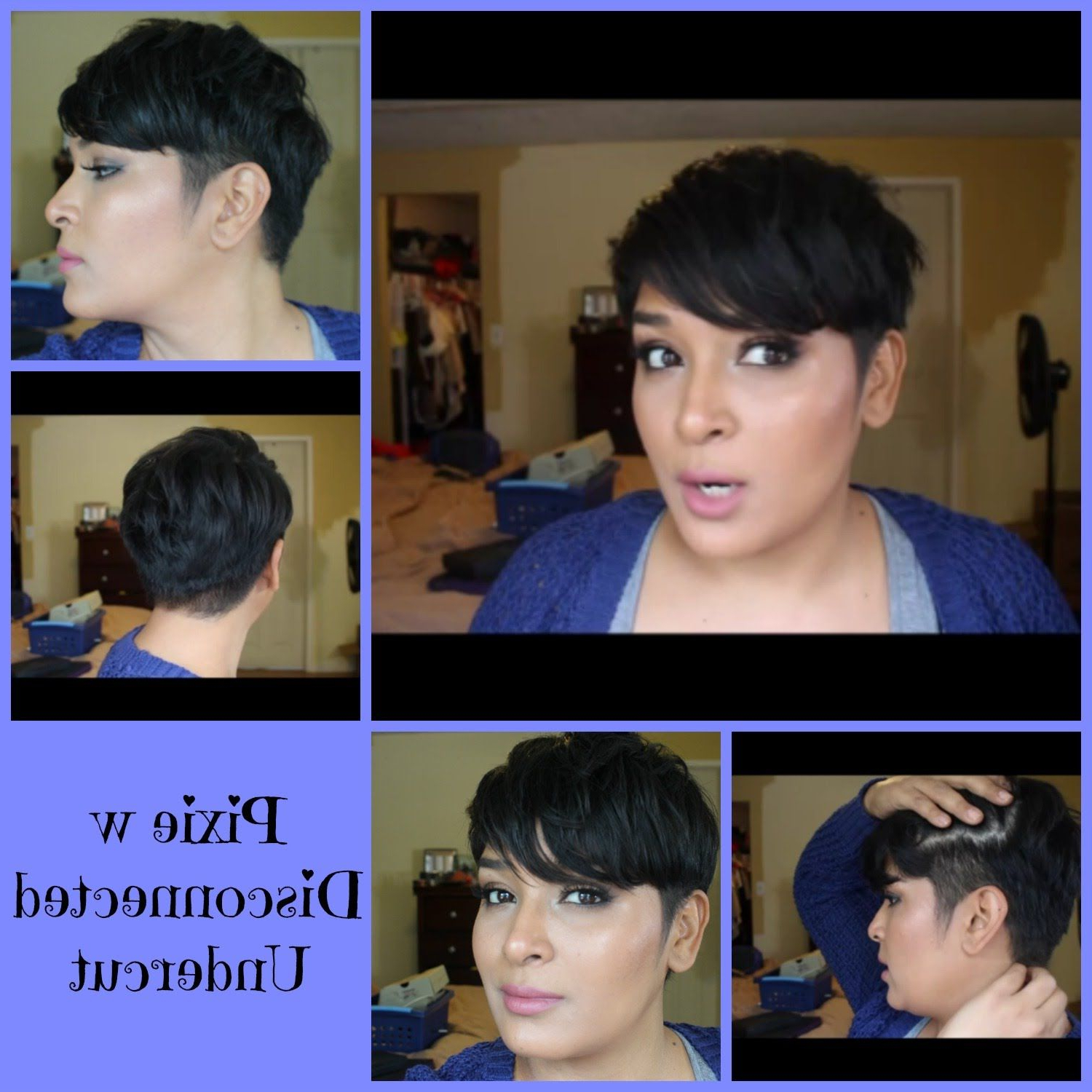 Pixie With Disconnected Undercut | Freshly Cut | Pixie Hair Regarding Disconnected Pixie Hairstyles For Short Hair (View 16 of 20)