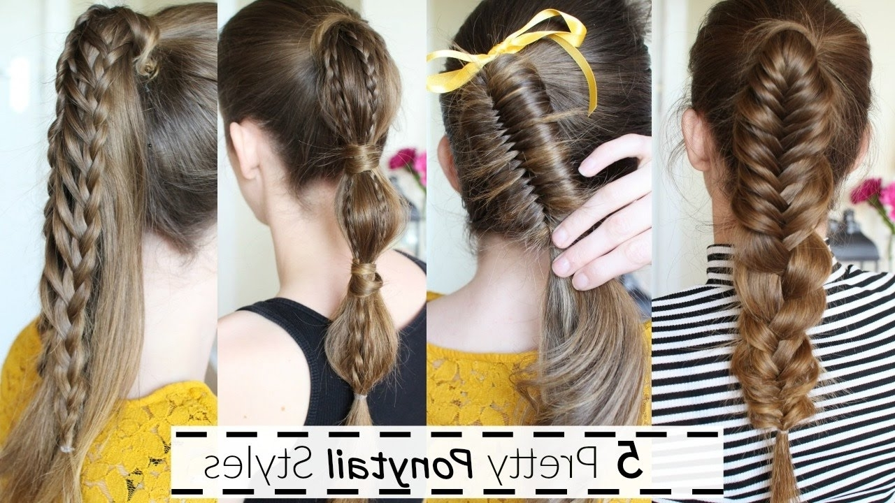 Ponytail Hairstyles (View 19 of 20)
