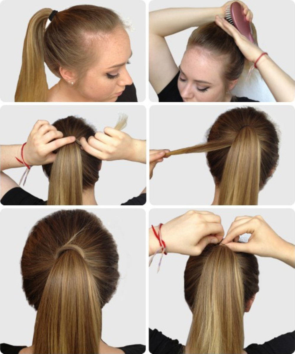 Popular Fancy Updo With A Side Ponytails Pertaining To 6 Super Easy Hairstyles For Finals Week – College Fashion (View 18 of 20)