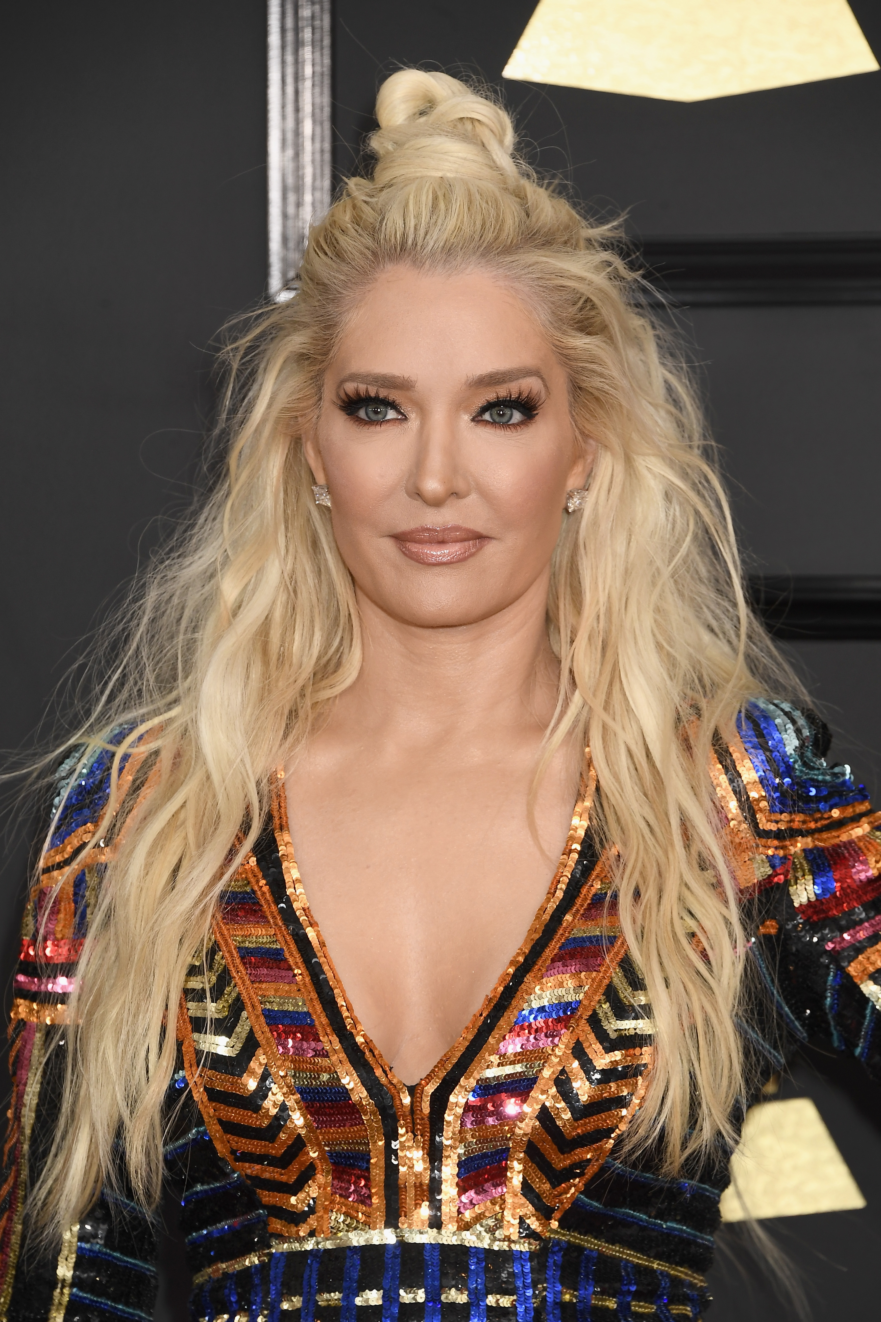 Preferred Braided Glam Ponytail Hairstyles Within 17 Of Erika Jayne's Best Hair Moments (View 19 of 20)