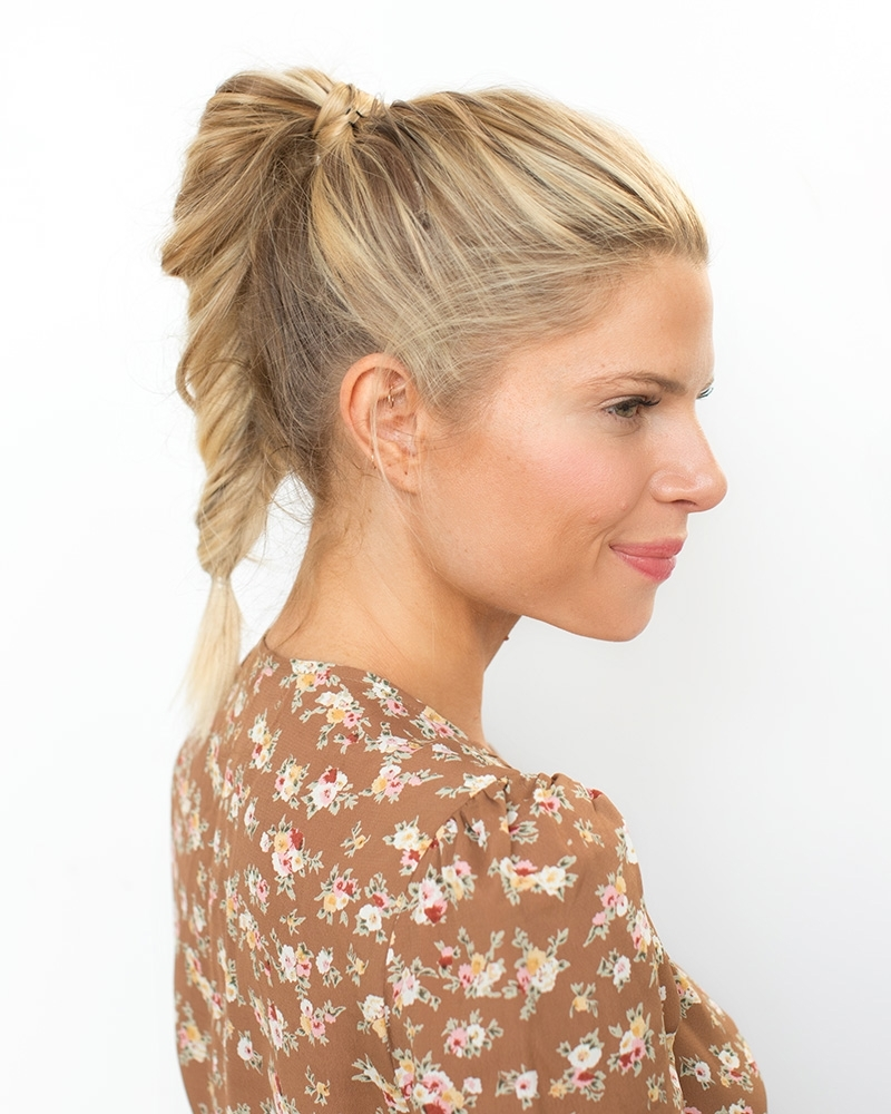 Preferred Fabulous Fishtail Side Pony Hairstyles For How To Do A Fishtail Pony (View 13 of 20)