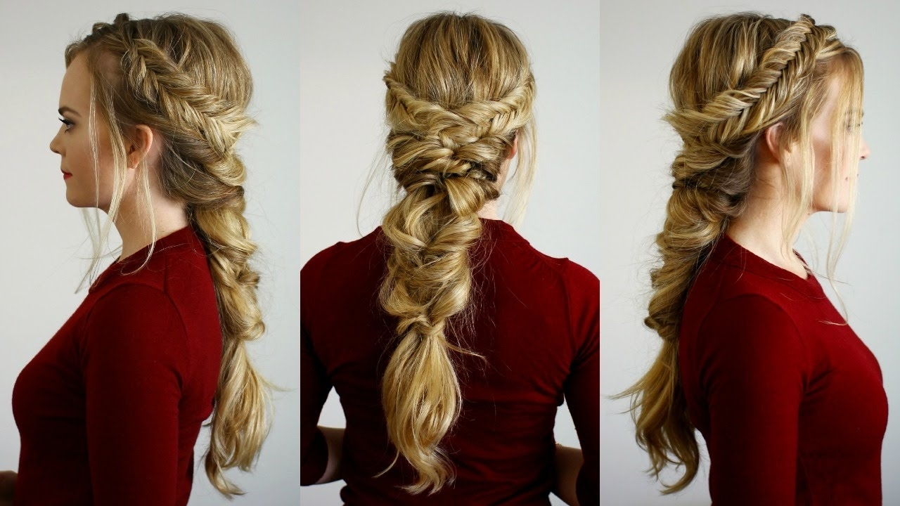 Preferred Topsy Tail Low Ponytails Inside Stand Out In Formal Events With Fishtail Topsy Tail Pony! – The (View 16 of 20)