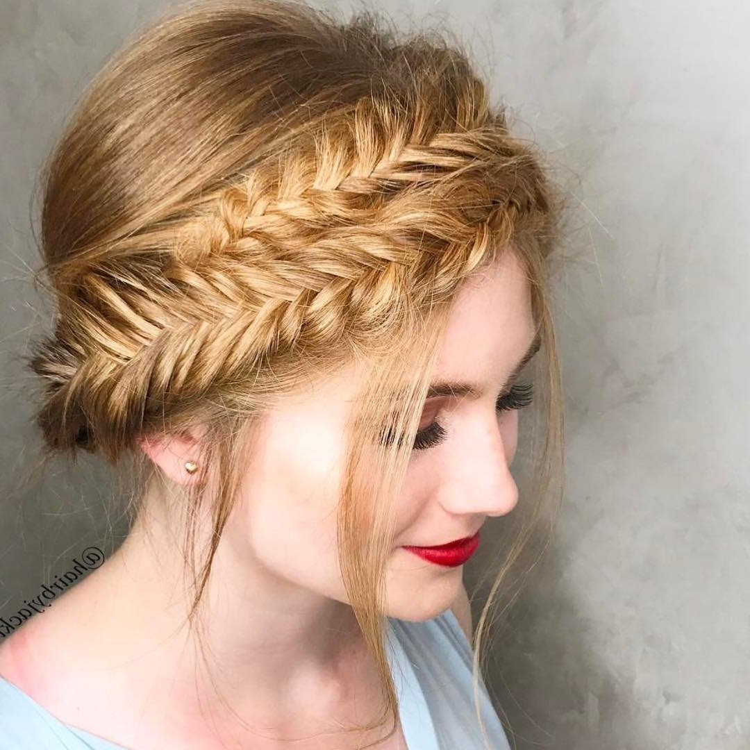 Recent Artistically Undone Braid Ponytail Hairstyles Inside 10 Braided Hairstyles For Long Hair – Weddings, Festivals & Holiday (View 14 of 20)