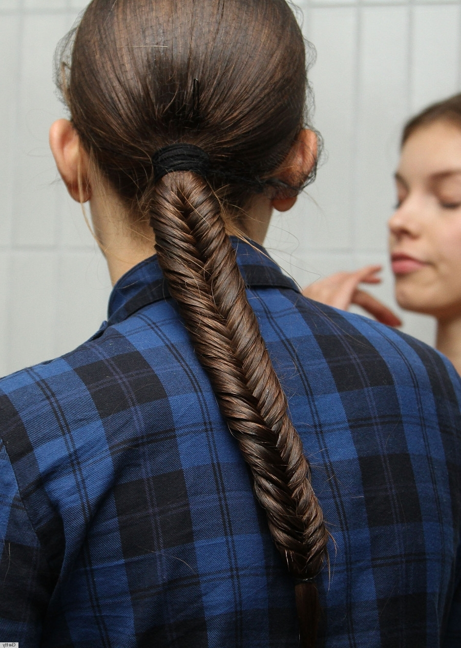 Recent Fantastical French Braid Ponytail Hairstyles Intended For The 'man Braid' Is Here And It's As Glorious As It Sounds (View 16 of 20)