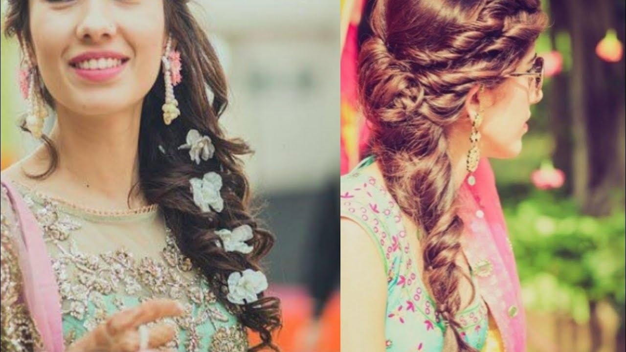 Recent Simple Messy Side Ponytail Hairstyles In Beautiful Messy Side Ponytails Hairstyles For Wedding Season (Gallery 4 of 20)