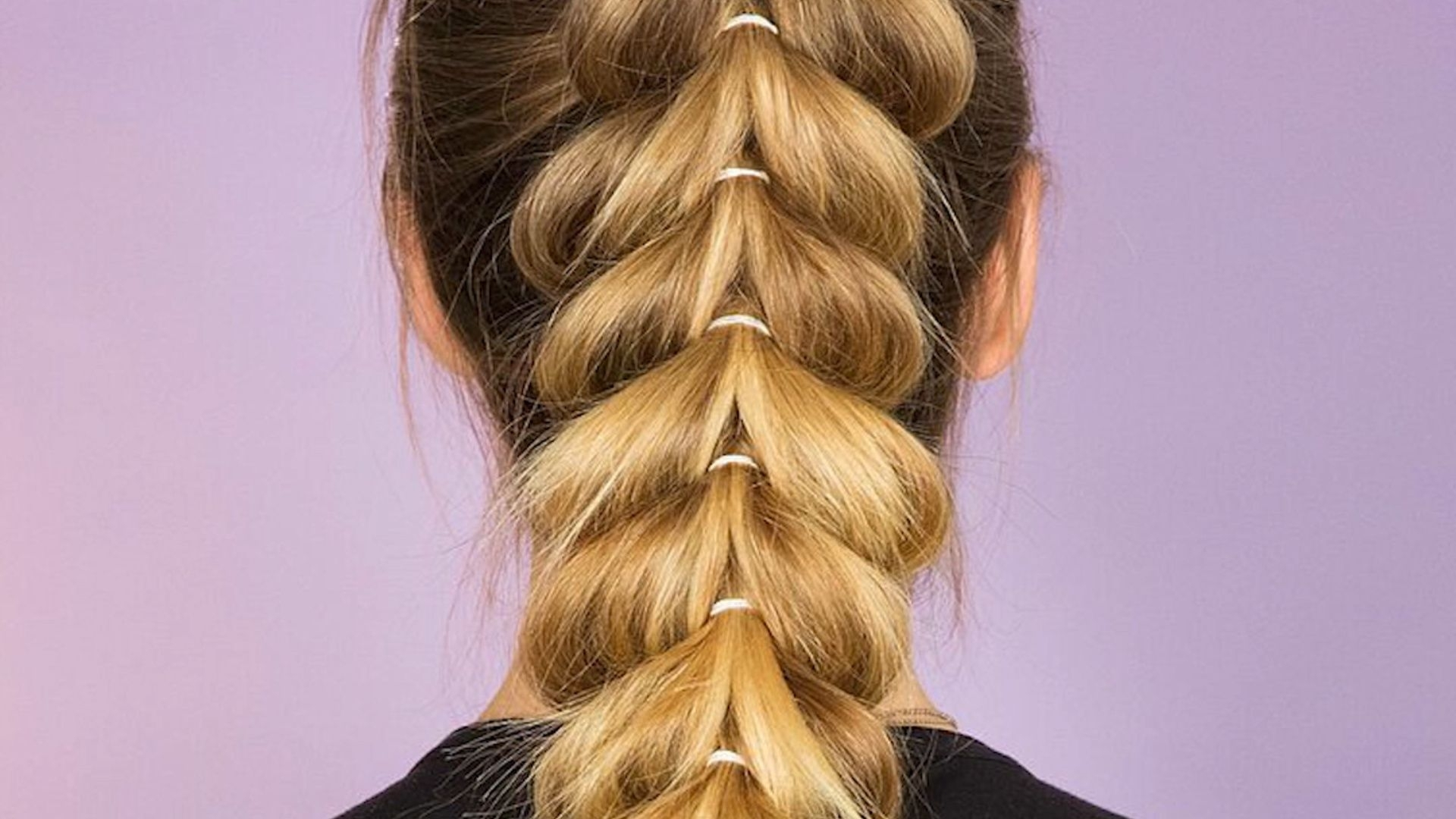 Recent Unique Braided Up Do Ponytail Hairstyles Throughout Upside Down Heart Braided Ponytail: This Braid Is The Perfect Way To (Gallery 17 of 20)