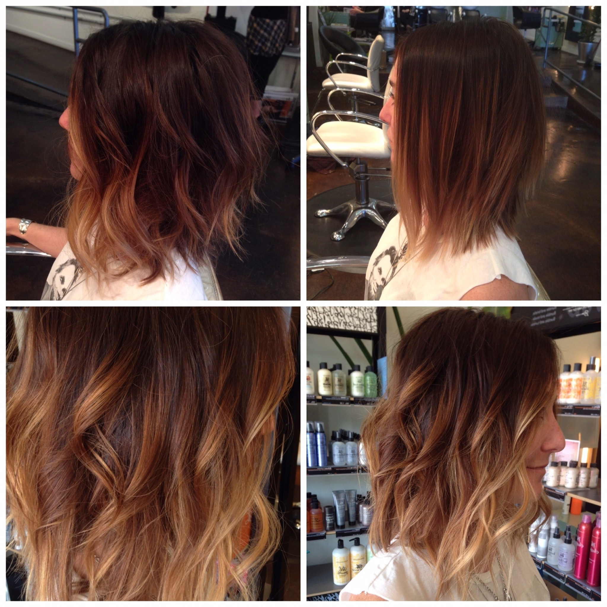 San Diego Hairstylist, Long A Line Bob, Lob, Blonde, Beige Blonde With Balayage Bob Haircuts With Layers (View 18 of 20)