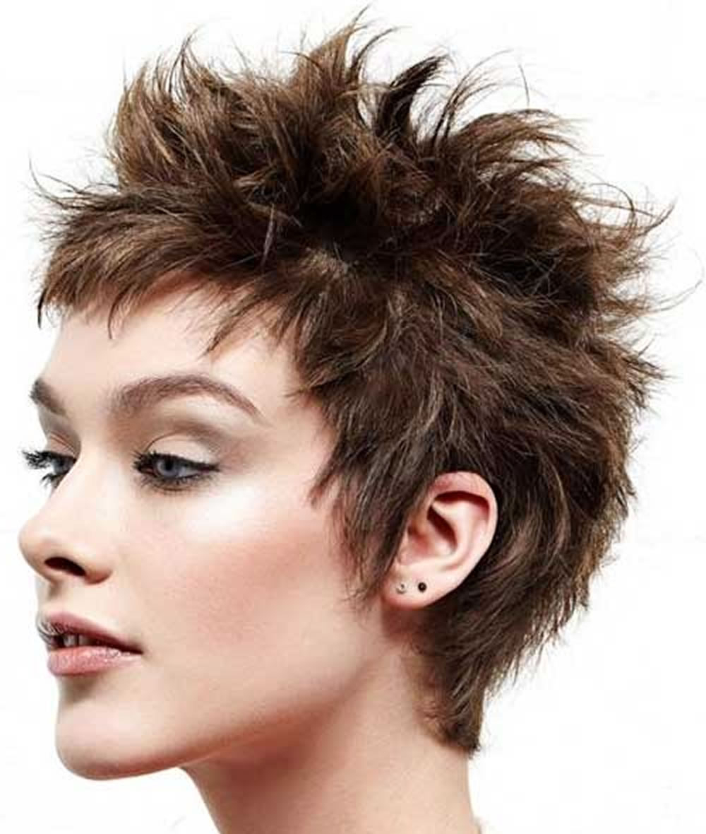 Seven Things You Didn't Know About Spiky Hairstyle For Women | Spiky With Short Spiked Haircuts (View 8 of 20)