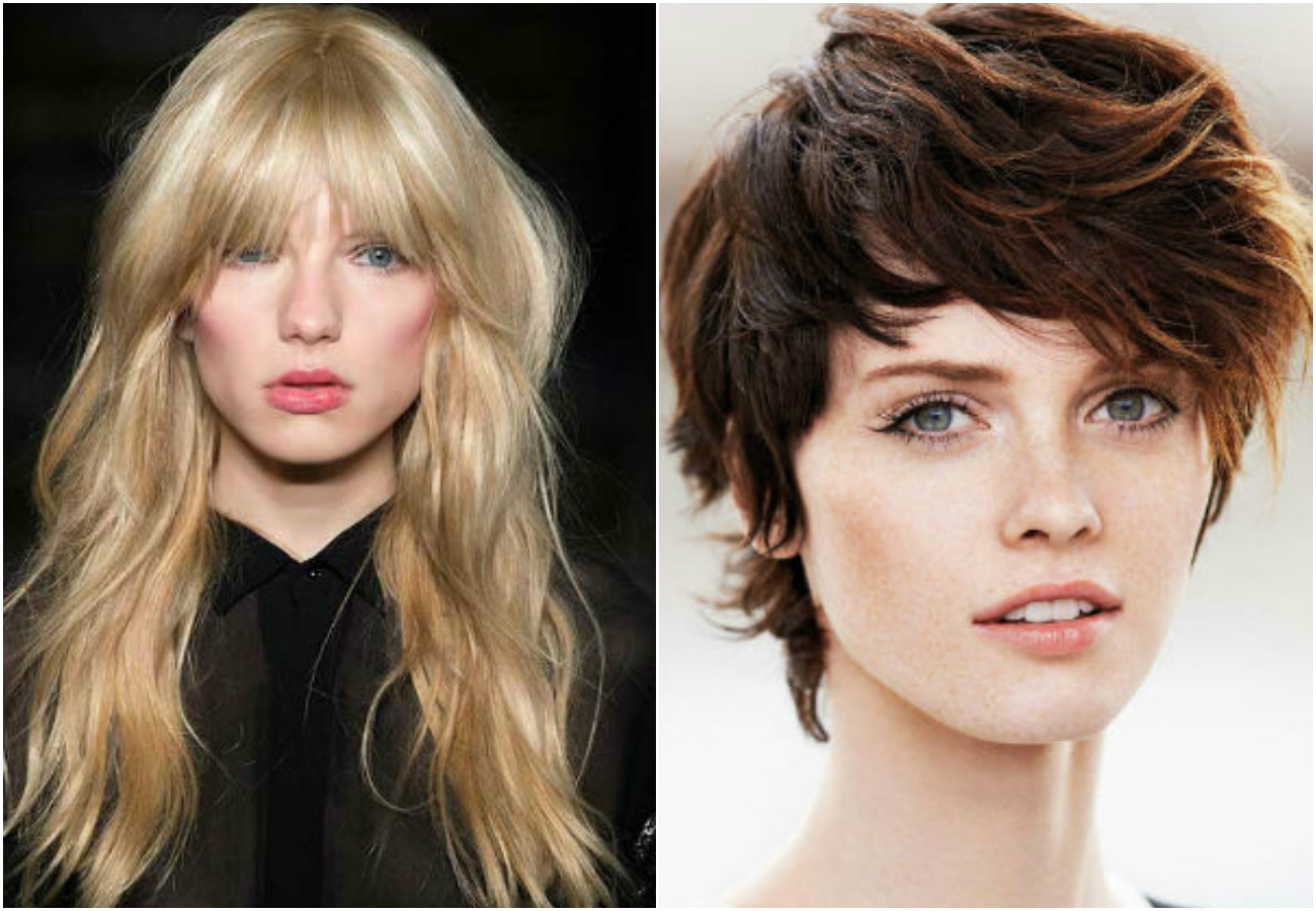 Shag Haircuts For Women 2017 | Short, Long, Medium Length Hairstyles In Disheveled Blonde Pixie Haircuts With Elongated Bangs (Gallery 8 of 20)
