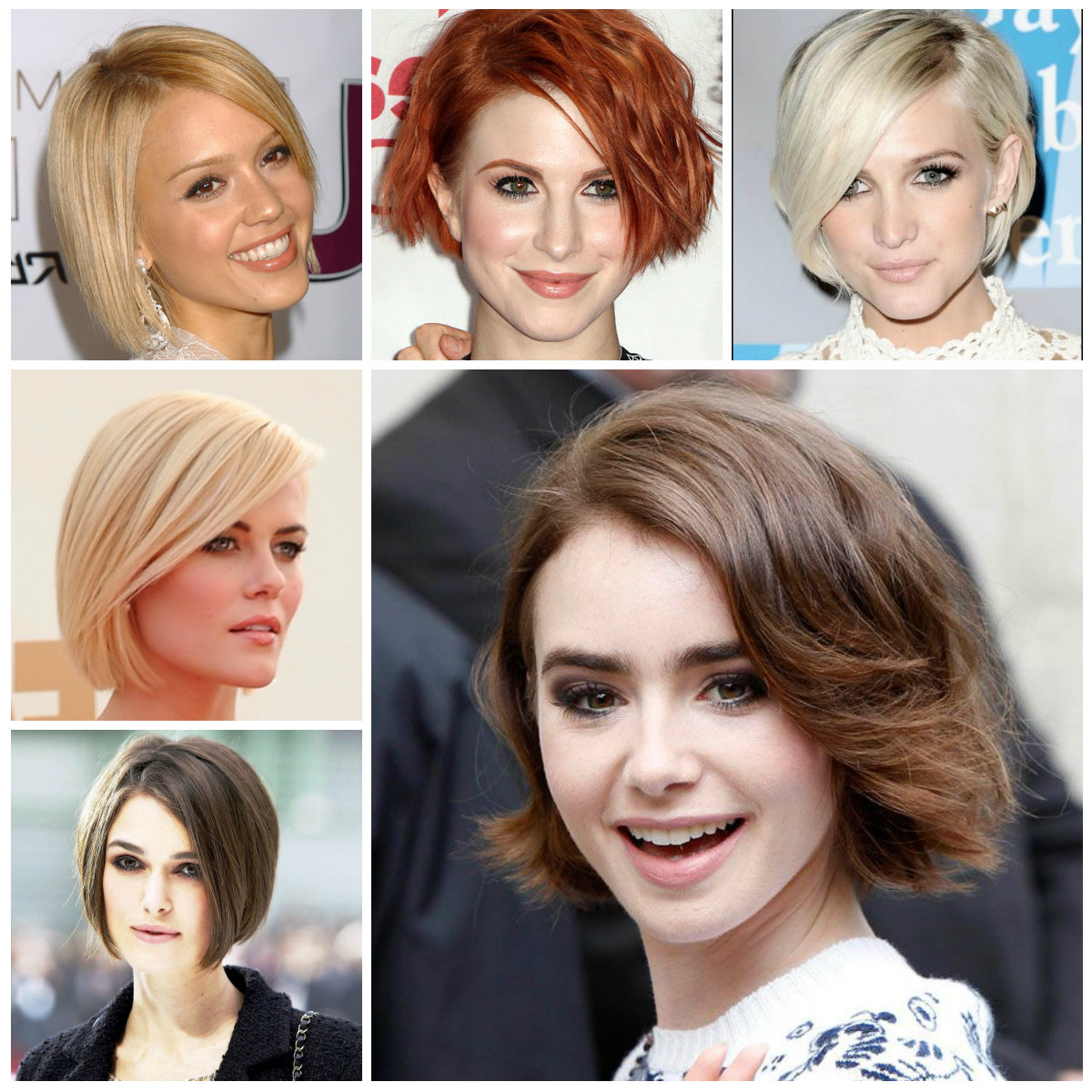 Short Bob Hairstyles From Celebrities | Hairstyles For Women 2019 Intended For Short Straight Bob Hairstyles (View 18 of 20)