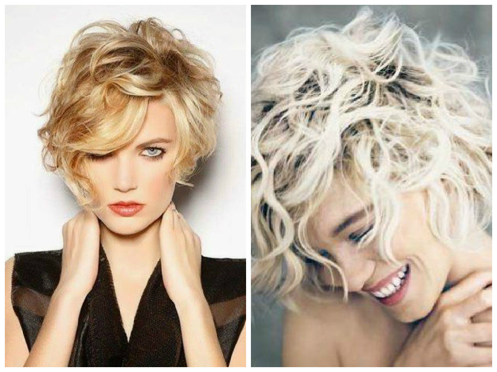 Short Curly Blonde Hair Pertaining To Dark Blonde Short Curly Hairstyles (View 2 of 20)