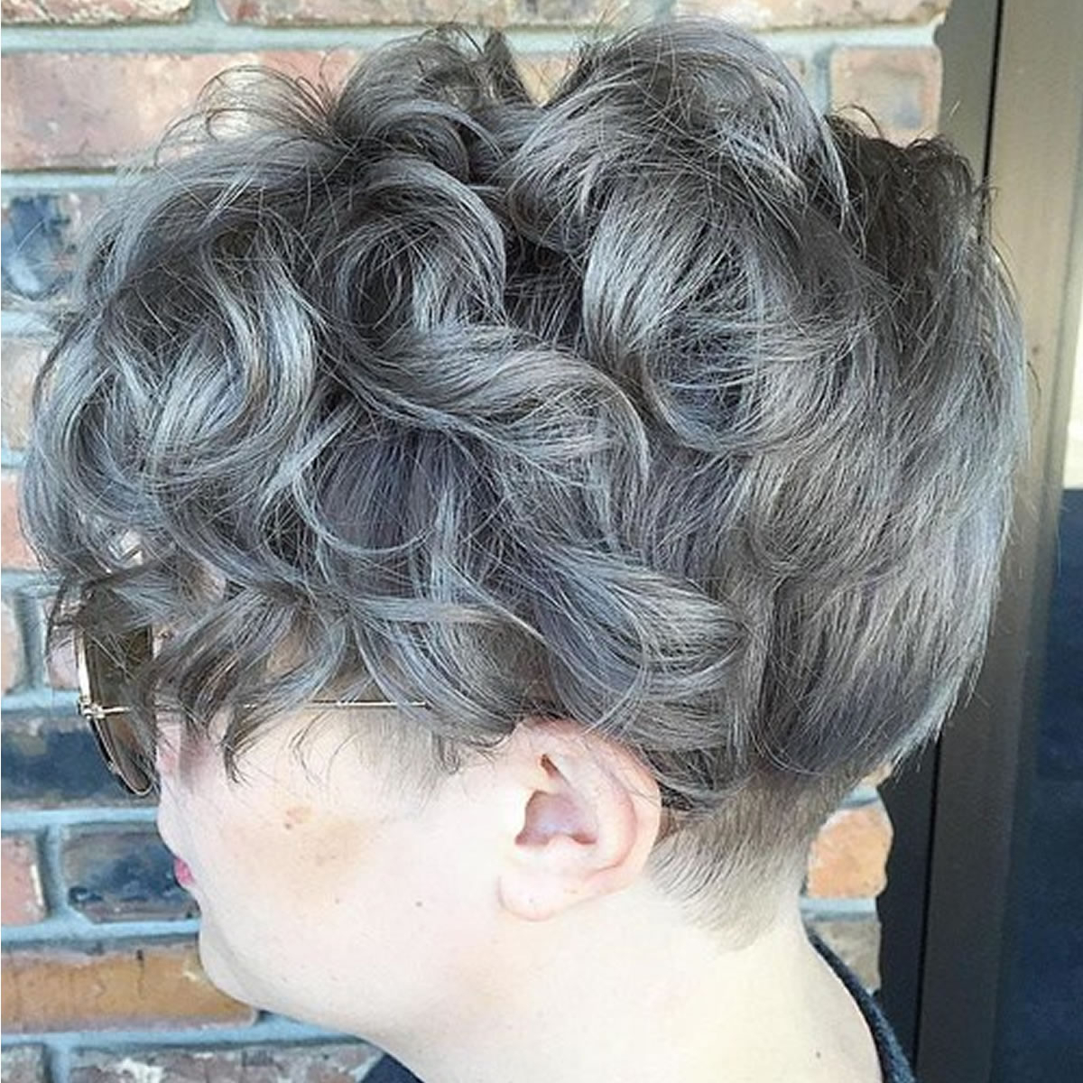 Short Grey Curly Silver Hairstyles – Hairstyles Within Curly Grayhairstyles (View 16 of 20)