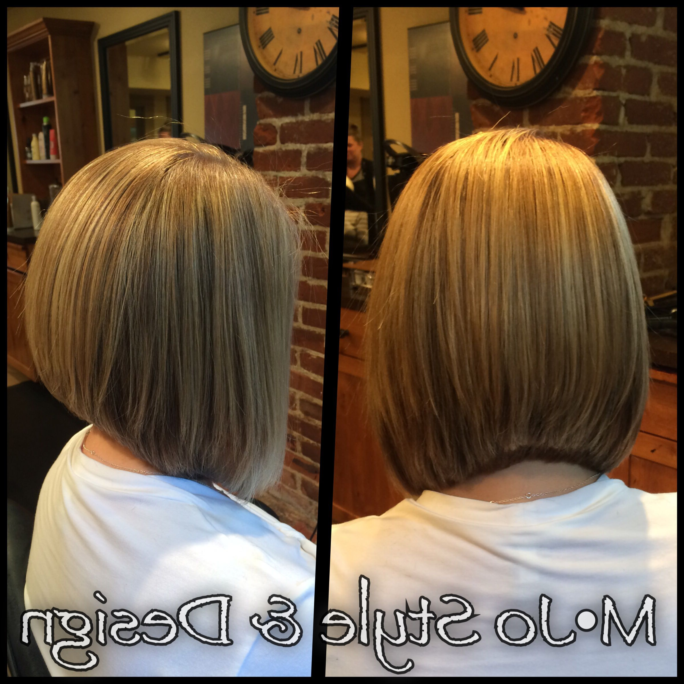 Short Hair Bob Haircut A Line Lob Ashy Blonde Hair Hair Inspiration Intended For A Line Amber Bob Haircuts (View 9 of 20)