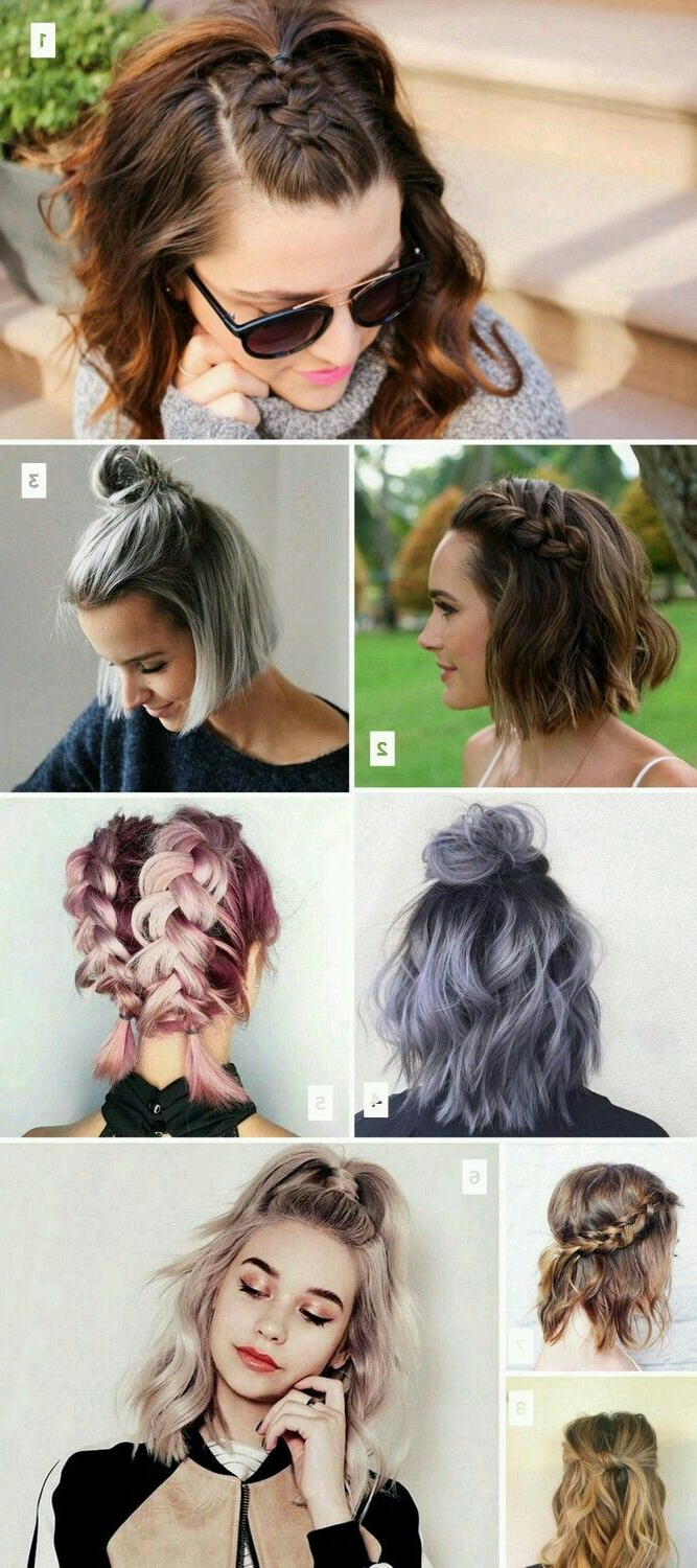 Short Hair Simple Hairstyles Inspiration (View 2 of 20)
