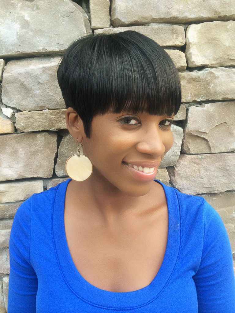 Short Hair Styles On Black Hair Bowl Cut | Short Styles For Black Intended For Tapered Bowl Cut Hairstyles (Gallery 18 of 20)