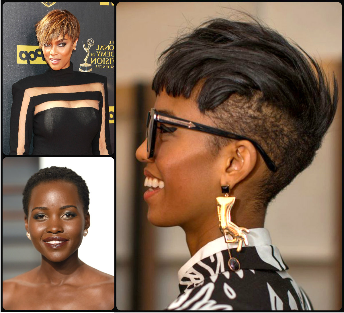 Short Haircuts Archives | Page 6 Of 15 | Hairstyles 2017, Hair Pertaining To Shorter Black Messy Hairstyles (View 16 of 20)